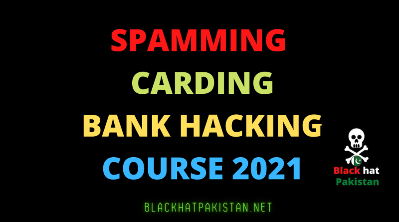 carding And Spamming full course in Urdu/hindi 2021