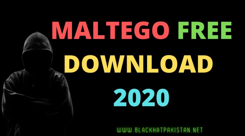 Maltego Free Download 2020