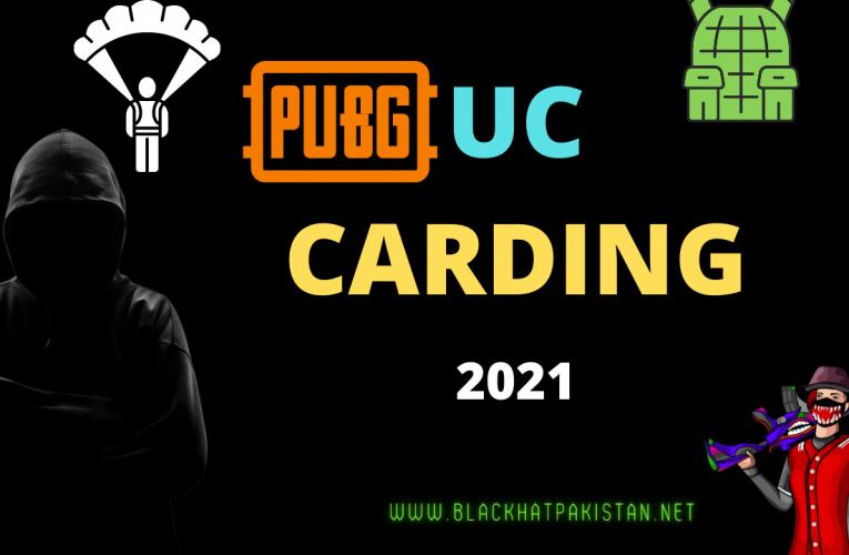 Pubg UC Carding Method 2021