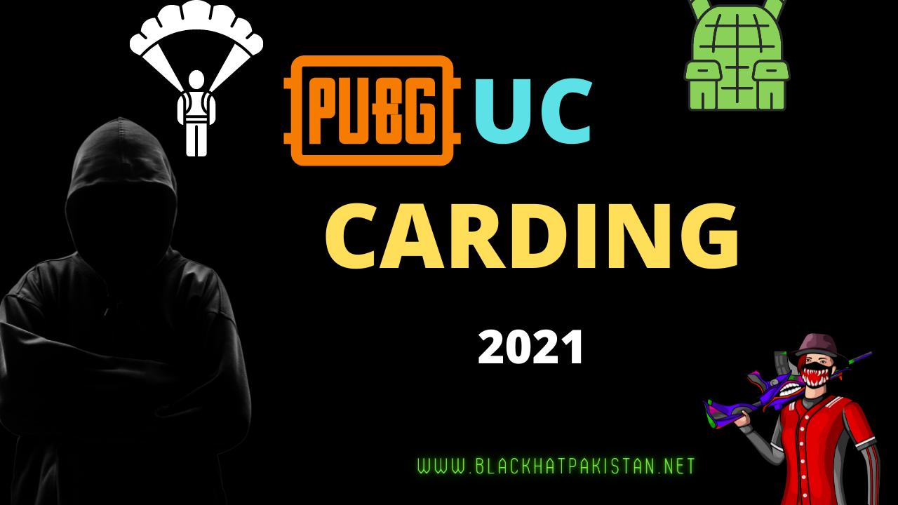 Pubg UC Carding Method