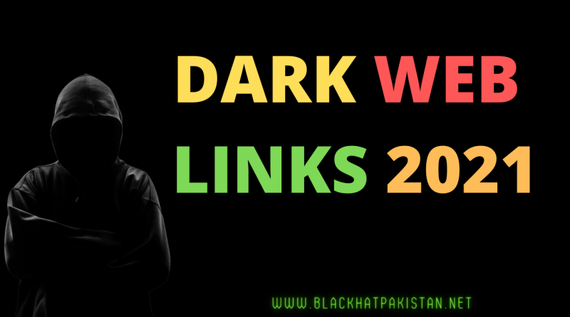 Dark web Links 2021