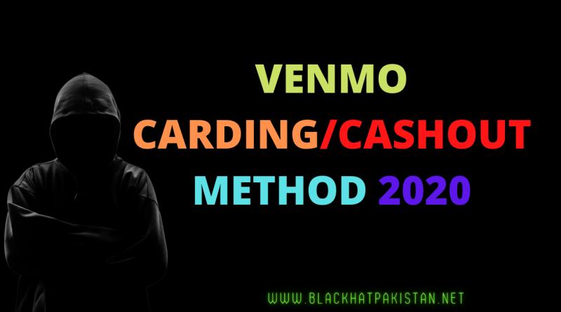 VENMO CARDING/CASHOUT METHOD 2020