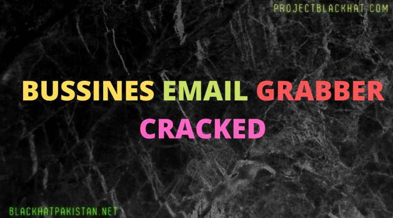 Bussines email grabber Cracked
