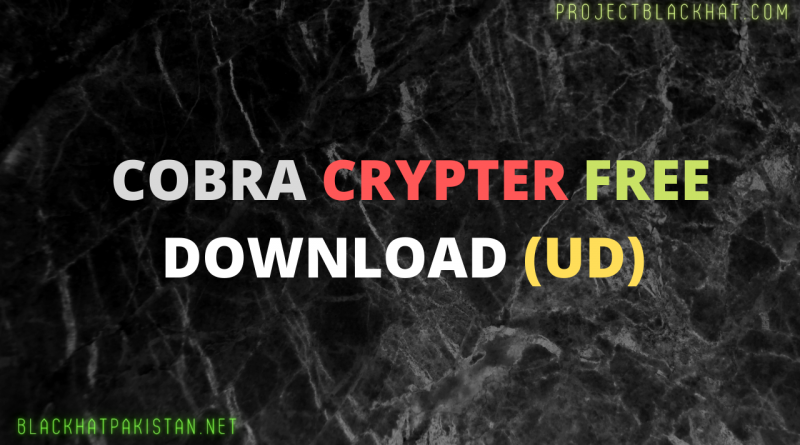 Cobra Crypter Free Download
