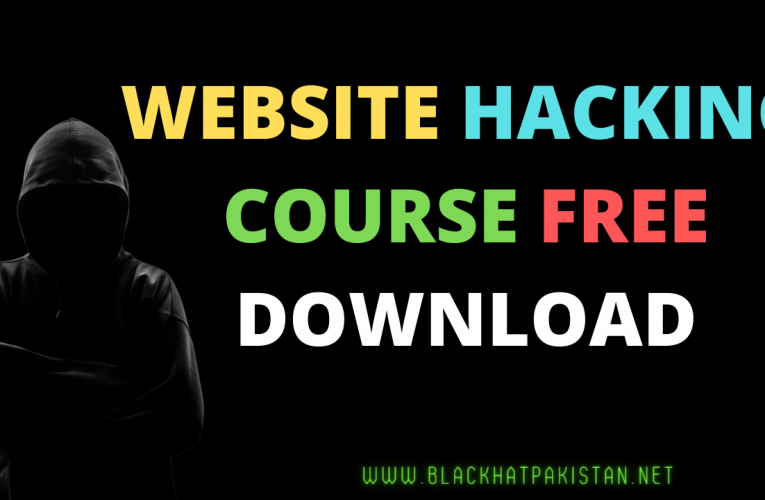 Website Hacking course free download | Website hacking course 2021