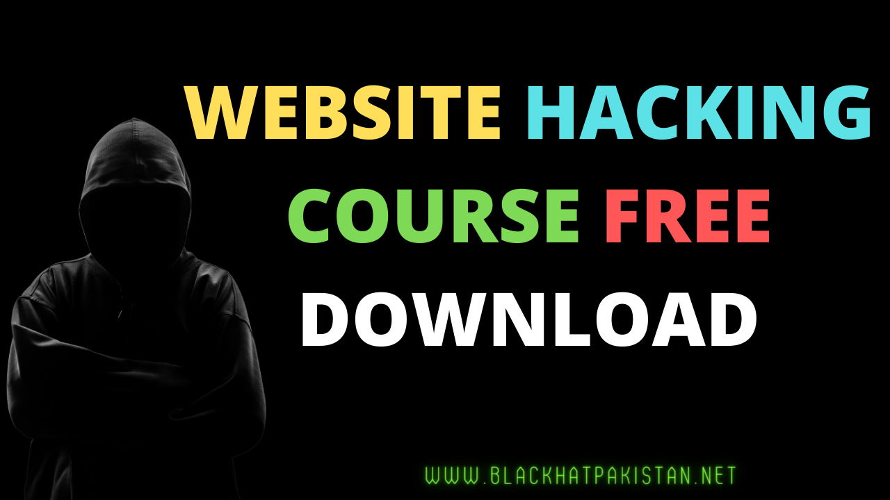 Website Hacking course free download