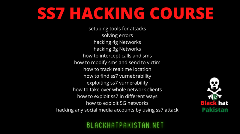 SS7 Hacking Complete Course 2021